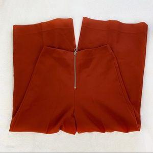 Zara Capri Crop Culotte Trousers Wide Leg